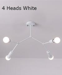 現代のled天井シャンデリア照明リビングルームの寝室分子シャンデリアマルチヘッドクリエイティブホーム照明器具 4ヘッド