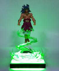 ドラゴンボールZブロリースーパーサイヤ人武空術Ledナイトライトテーブルランプ