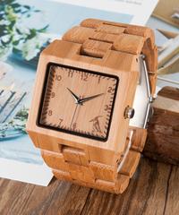 BOBO BIRD トップブランドウッド腕時計メンズ腕時計クォーツ時計ファッション時計