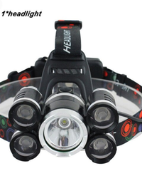 LEDヘッドライト40000ルーメンヘッドランプ LEDヘッドランプ懐中電灯トーチランタンヘッドライト 本体のみ