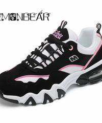 ランニングシューズ女性の靴レースアップ軽量カップルカジュアルシューズファッション