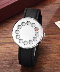 【全4色】 Gorbenクリエイティブウォッチ男性ピックアップユニークダイヤルクォーツ腕時計