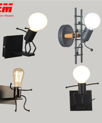 ledクリエイティブ組み立て取り付け用燭台ランプ