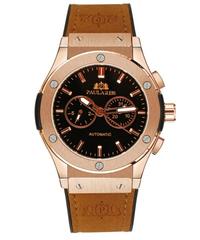 【全9色】 PAULAREIS P クロノグラフ メンズ腕時計 自動巻き カジュアルスポーツジュネーブウォッチ