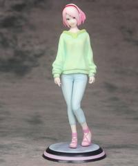 NARUTO - ナルト -   春野サクラ アニメアクションフィギュア ライトグリーンフリースVer 21.5cm