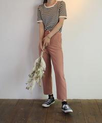 #245  カラースラックスパンツ 4 colour