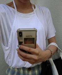#270  ホルダーT-shirt / ホワイト