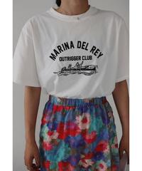 MARINA ロゴTシャツ/ホワイト