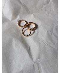 gold ring 3set
