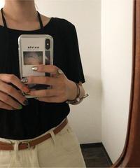 #270  ホルダーT-shirt / ブラック