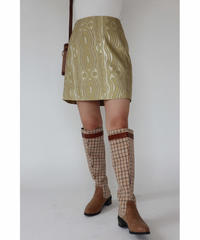 #299 シャガード織り スカート / オリーブ