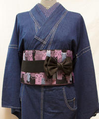 ★ポケット付き★レディース・デニム着物 対丈Sサイズ / インディゴ