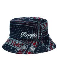 ROGIC / paisley bucket hat red