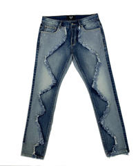 FLIGHT94 / half & half denim pants