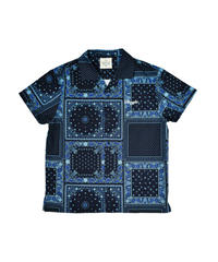 ROGIC / paisley shirts blue