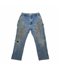 INNOCENCE / carhartt double knee pants blue