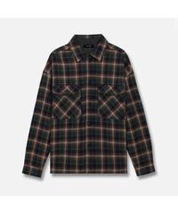 MLVINCE / wool gauze L/S shirts green