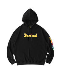 MAISON EMERALD / colorful star hoodie