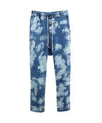 SUNDAYOFFCLUB / bleached washed denim pants