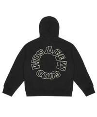 A FEW GOOD KIDS / 3D logo hoodie black