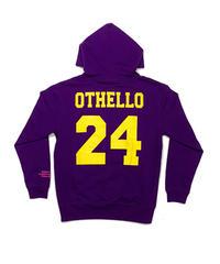 OTHELLO original / smiley hoodie purple
