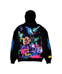 VLONE × JUICE WRLD / cosmic hoodie
