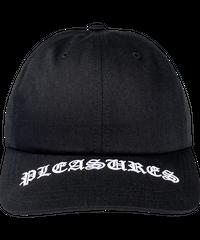 PLEASURES / visor logo cap