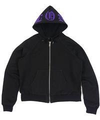 VLONE / canvas hoodie black