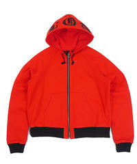 VLONE / canvas hoodie red