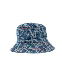 VANDYTHEPINK / vandy jacquard denim bucket hat