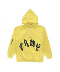 GRIMEY / yoga fire hoodie yellow