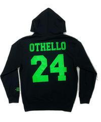 OTHELLO original / smiley hoodie black