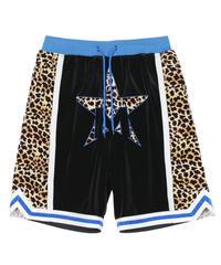 MAISON EMERALD / leopard stitching 5point pants