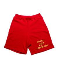 NINETY-TWO / stoned generation sweat shorts