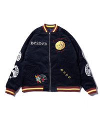 MAYO / forget me not reversible souvenir jacket