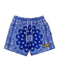 CIG / paisley swim shorts blue
