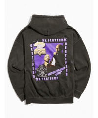 2PAC official / washed hoodie