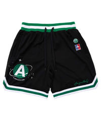 A FEW GOOD KIDS / logo mesh shorts