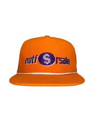 NOTFORSALE / logo cap orange