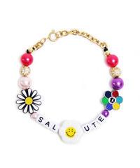 SALUTE / flower anarchy bracelet