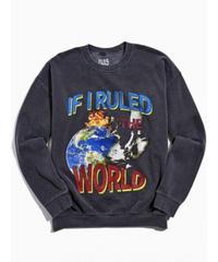 NAS / IF I RULED THE WORLD washed sweat shirt