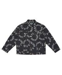 A FEW GOOD KIDS / logo denim jacket