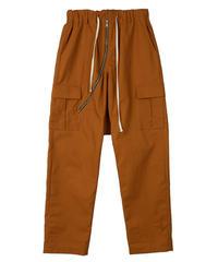SUNDAYOFFCLUB / zipper drop crotch pants