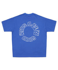 A FEW GOOD KIDS / logo S/S tee blue