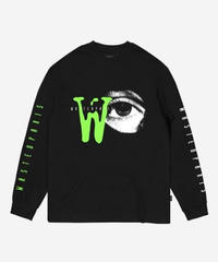 WASTED PARIS / zone 51 grow in the dark L/S tee