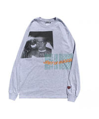 WANNA / sh**t is bugged out L/S tee ash