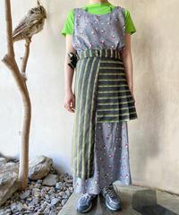 鴨ジャガード巻きスカート