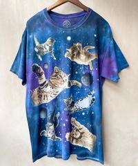 タイダイネコフワフワTシャツ