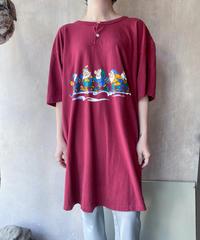 7人の小人スキーTシャツ