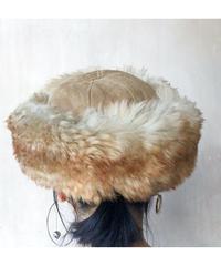 ムートン帽子